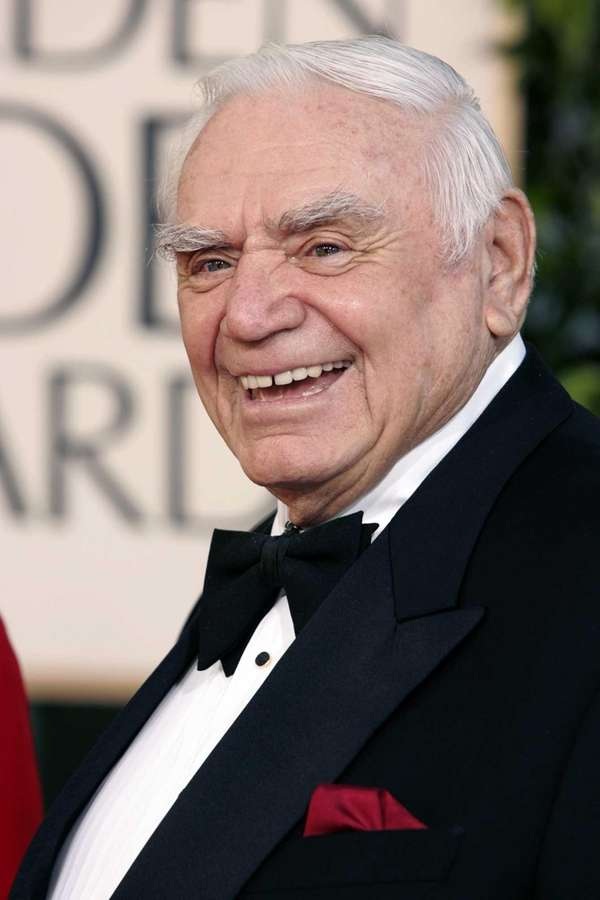 In this file photo, actor Ernest Borgnine arrives