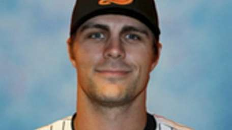 Long Island Ducks player Mitch Canham.
