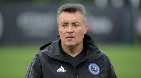 New York City FC head coach Domenec Torrent