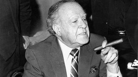 Brooklyn Democratic leader Meade Esposito in the 1980s.
