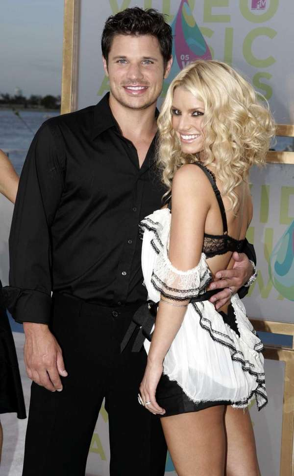 Nick Lachey and Jessica Simpson After Nick Lachey