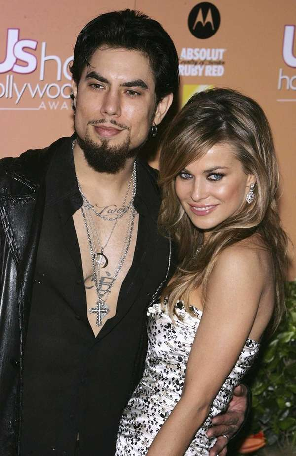 Carmen Electra and Dave Navarro Actress Carmen Electra