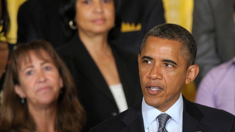President Barack Obama calls on Congress to pass