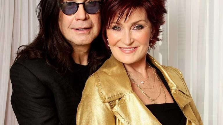 Sharon and Ozzy Osbourne prior to hosting the