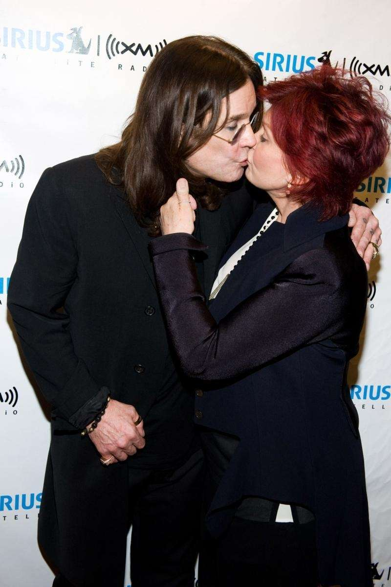 Ozzy and Sharon Osbourne When