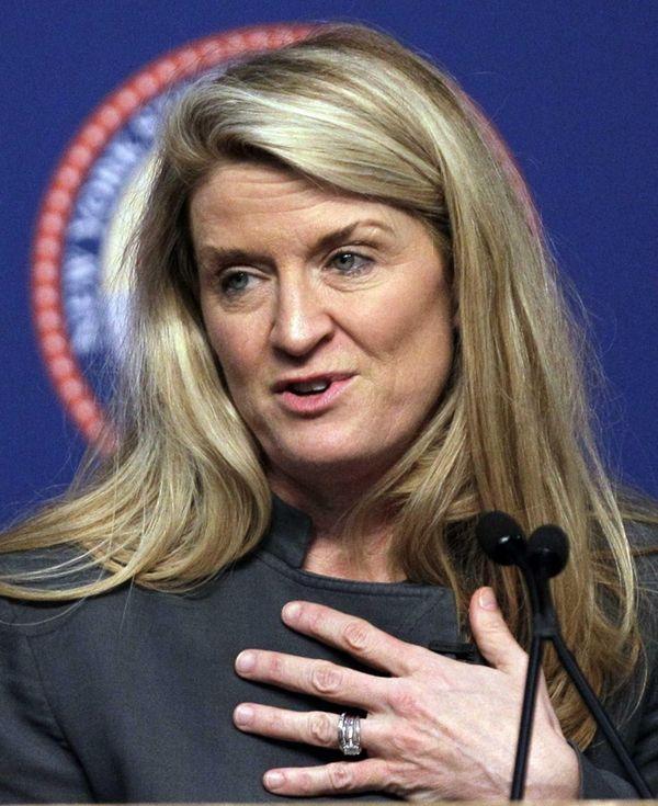 Republican Wendy Long is challenging incumbent Democratic Sen.