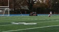 Shoreham-Wading River defeated Harborfields, 2-1, in the Suffolk