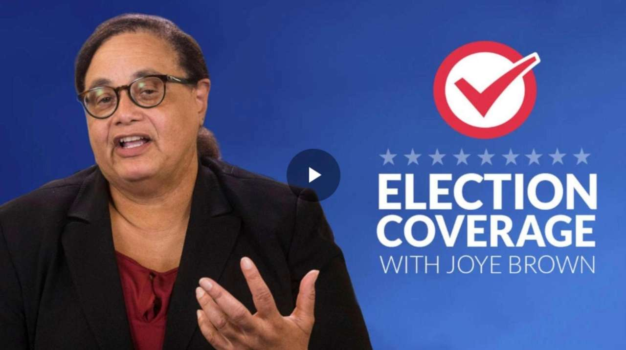 Newsday columnist Joye Brown talked Tuesday night about
