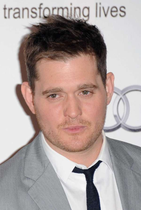 Singer Michael Buble attends the Nordoff Robbins O2