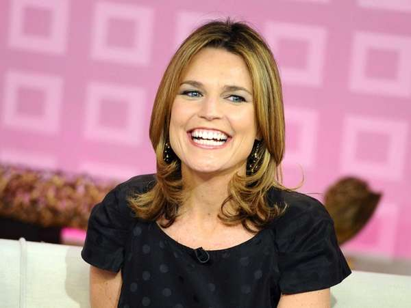 quot;Todayquot; show co-host Savannah Guthrie appears on the