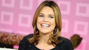 """Today"" show co-host Savannah Guthrie appears on the"