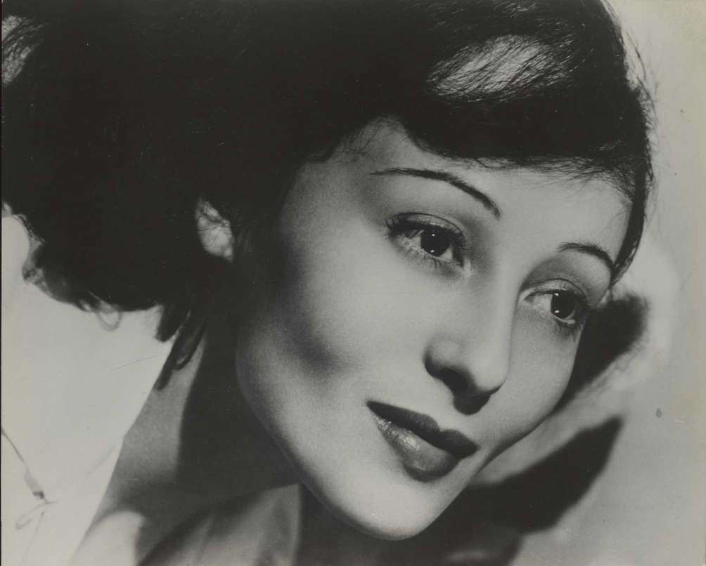 Luise Rainer, shown in this undated handout photo,