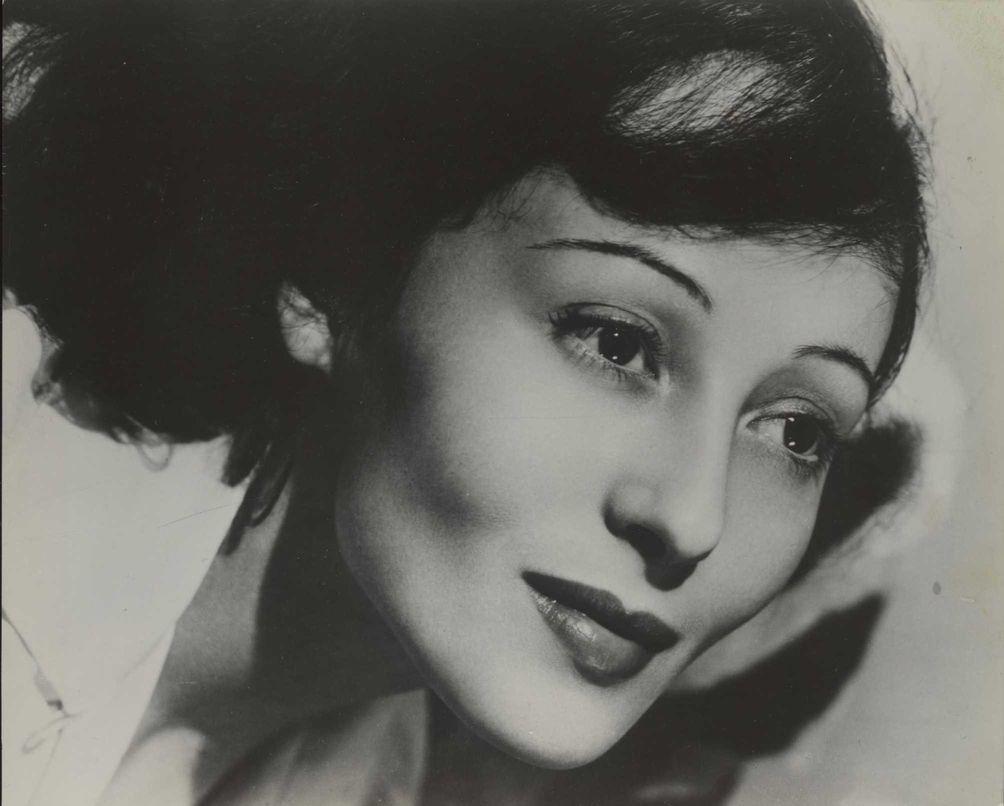 Luise Rainer, shown in this undated handout photo,