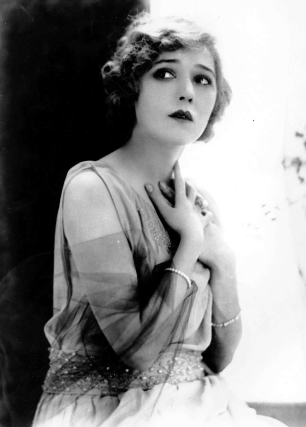 Actor Mary Pickford, photographed here on Aug. 29,