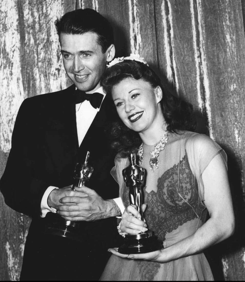 Jimmy Stewart and Ginger Rogers, at the 13th