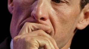 Lance Armstrong attends the annual Clinton Global Initiative