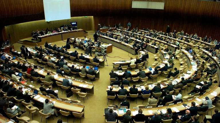 A general view of the Human Rights Council