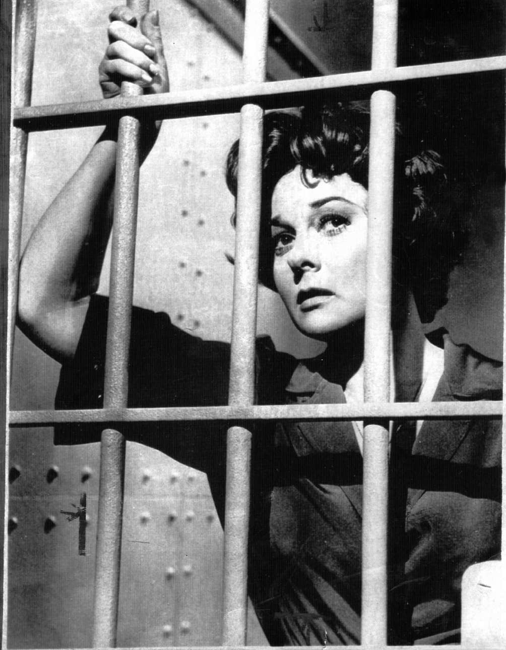 Susan Hayward, in a scene from the 1958