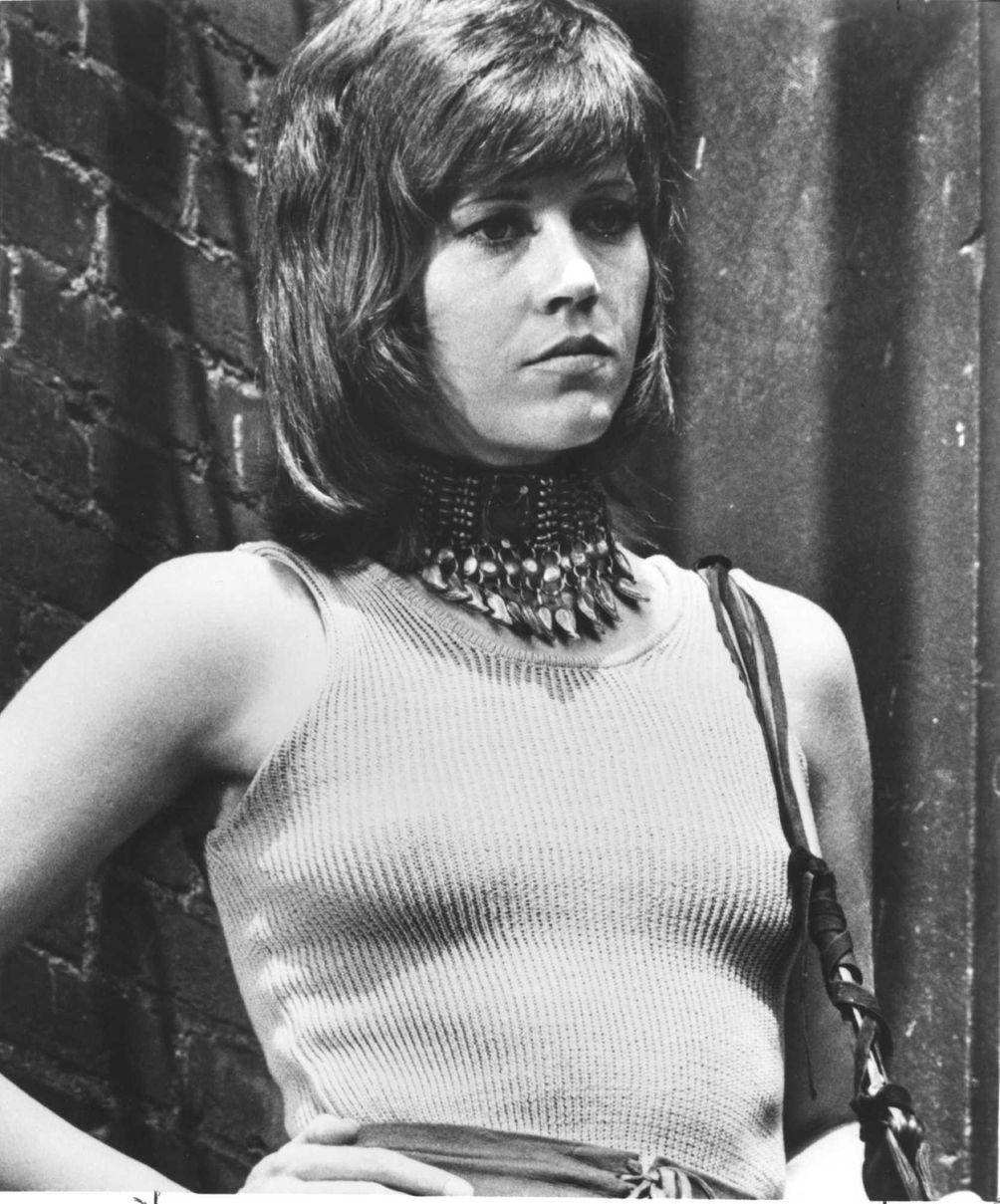 Jane Fonda, in a scene from the 1971