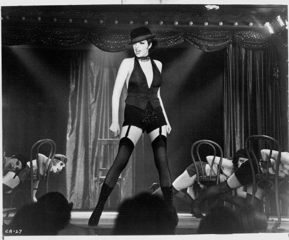 Liza Minnelli, in a scene from the 1972