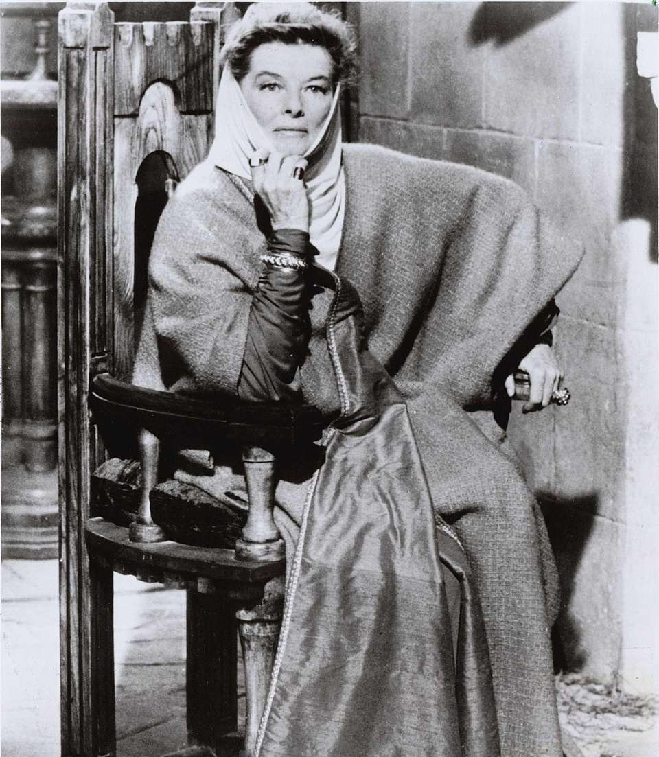 Katharine Hepburn, in a scene from the 1968