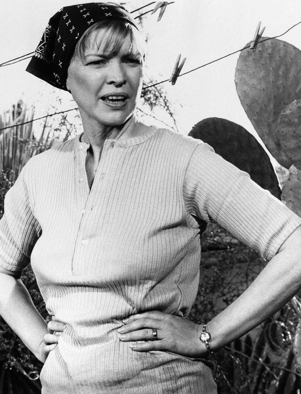 Ellen Burstyn, in a scene from the 1974