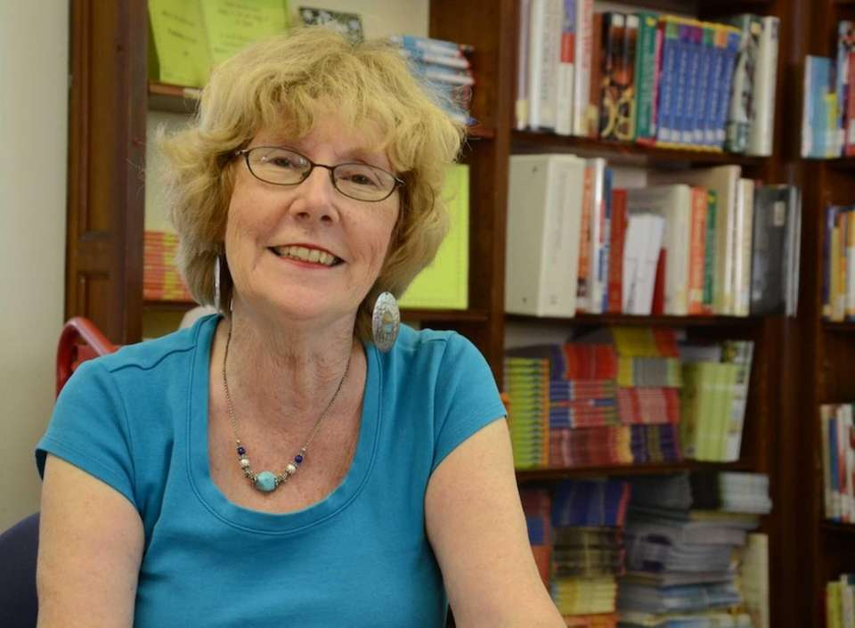Ann DiPietro, director of the Stenson Memorial Library,