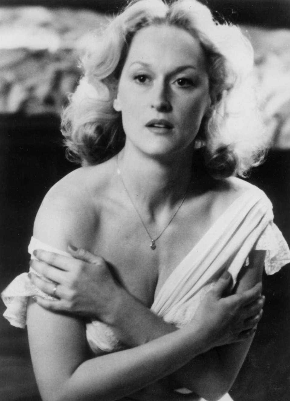 Meryl Streep, in a scene from the 1982