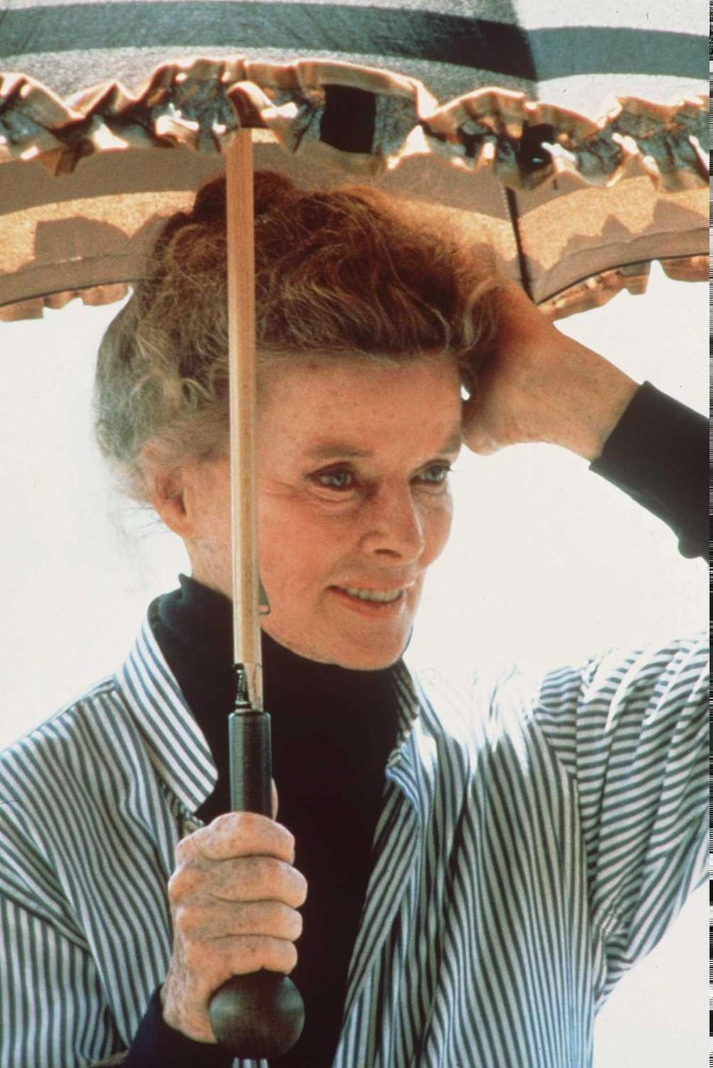 Actor Katharine Hepburn, in a scene from the