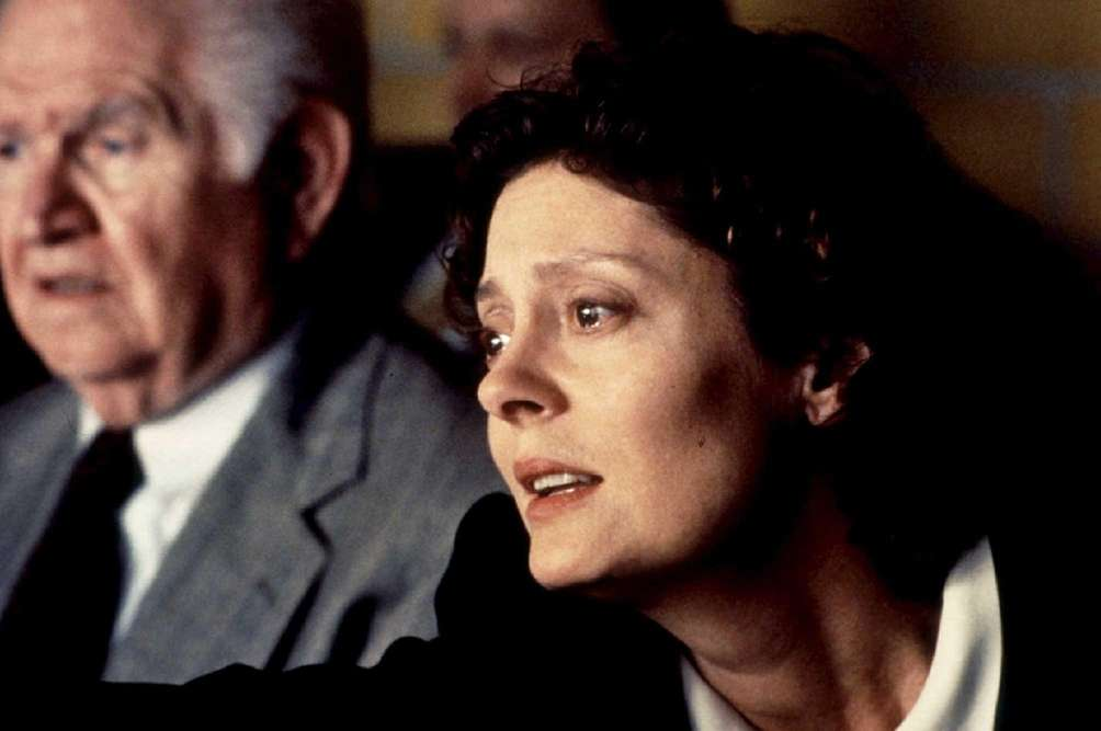 Robert Prosky and Susan Sarandon (right), in a