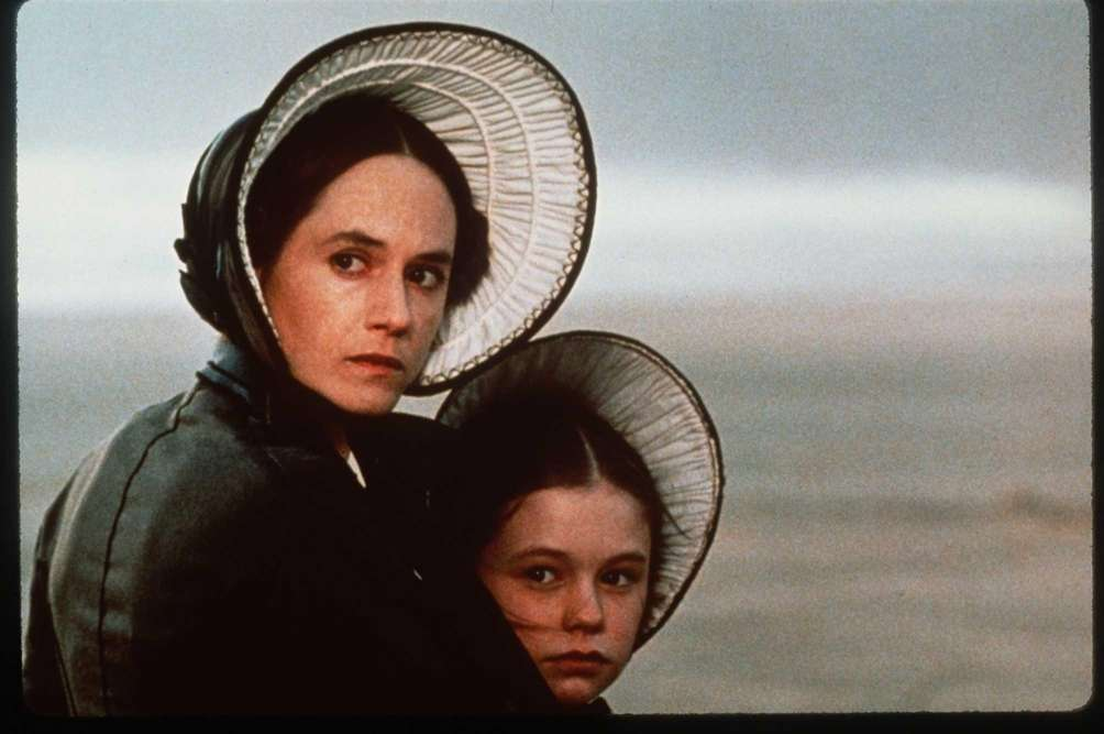 Holly Hunter (left) and Anna Paquin, in a