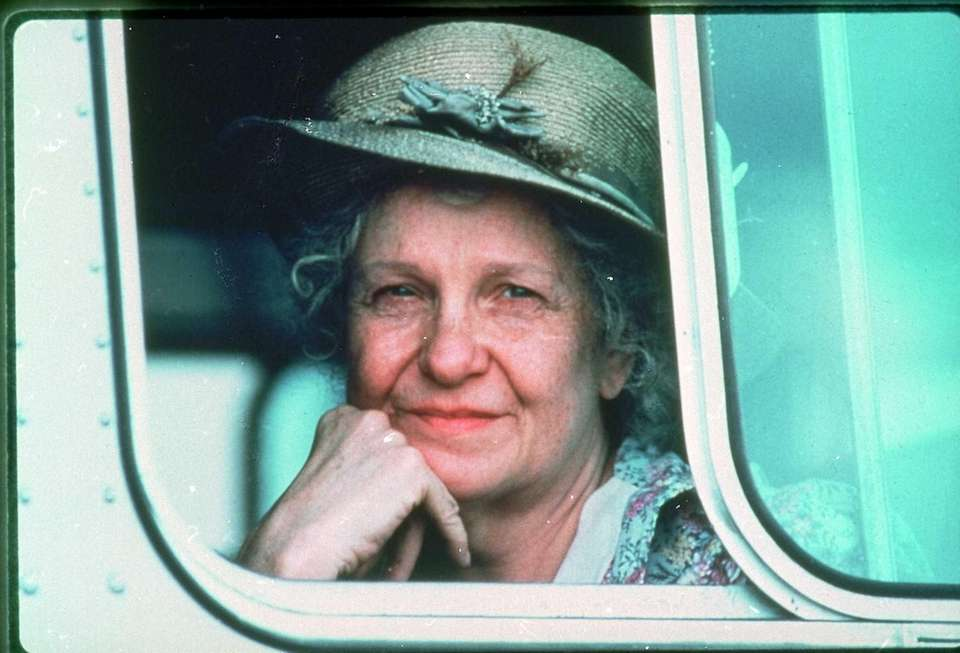 Geraldine Page, in a scene from the 1985