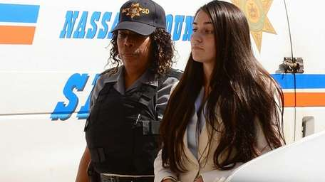 Kayla Gerdes is taken to Nassau County Court