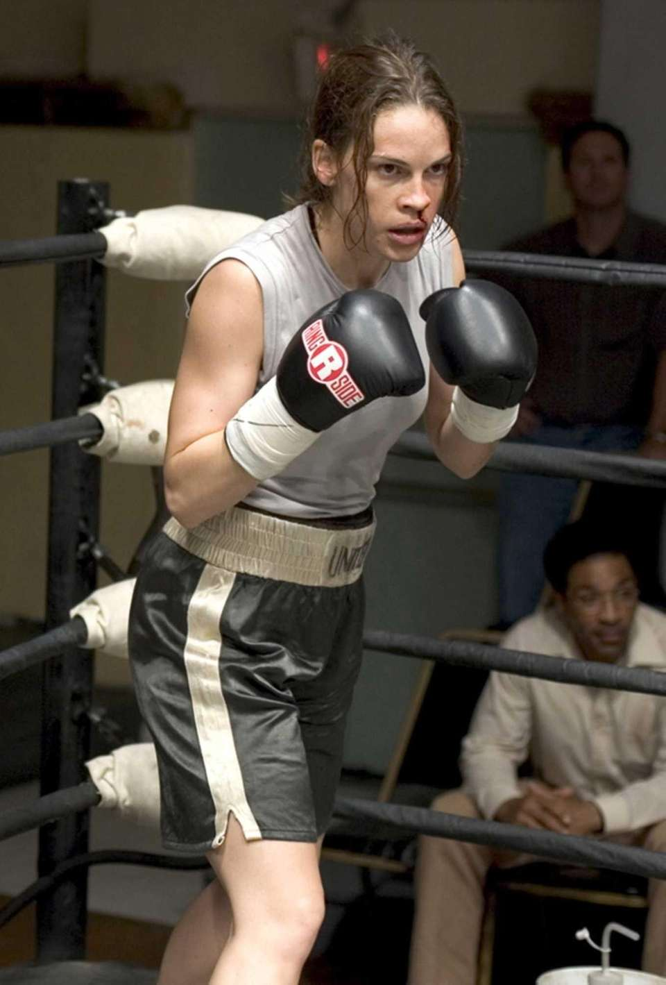 Hilary Swank, in a scene from the 2004