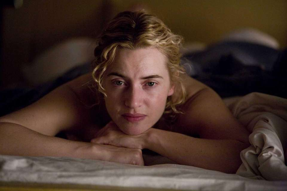 Kate Winslet, in a scene from the 2008