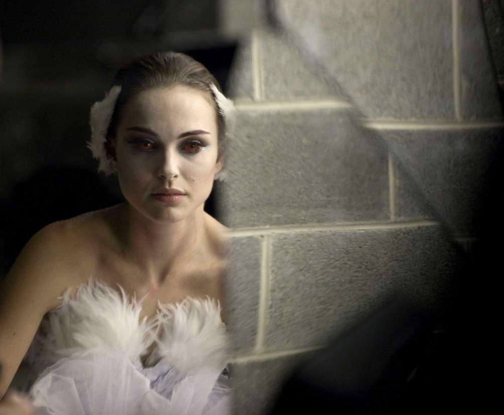 Natalie Portman, in a scene from the 2010