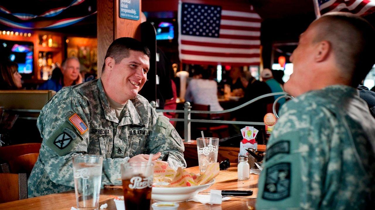 2019 Veterans Day Free Restaurant Meals Discounts Newsday