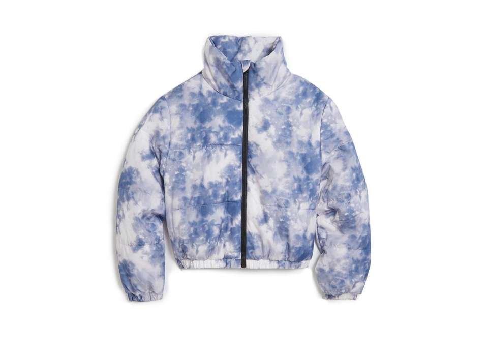 This winter stay warm in this cozy tie-dye