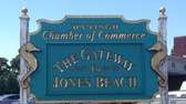 The Wantagh Chamber of Commerce sign bills the