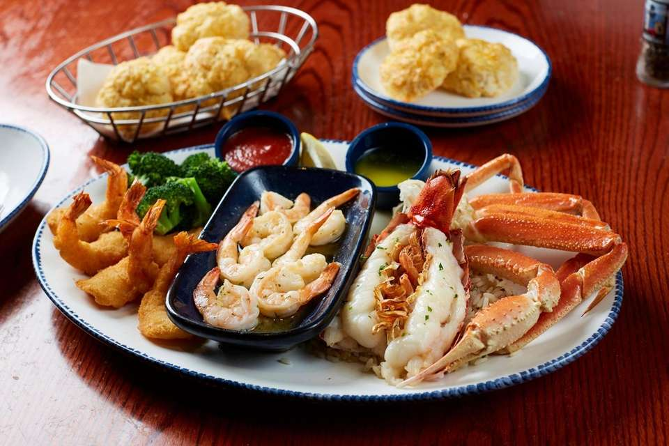 The Ultimate Feast with one Maine lobster tail,