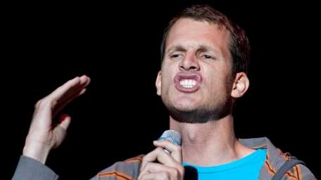 Comedian Daniel Tosh performs as part of the