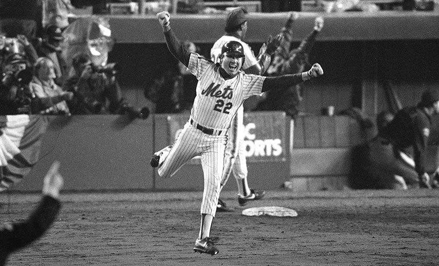 Unlikely MVP of the 1986 World Series scored