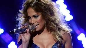 Jennifer Lopez performs her new single