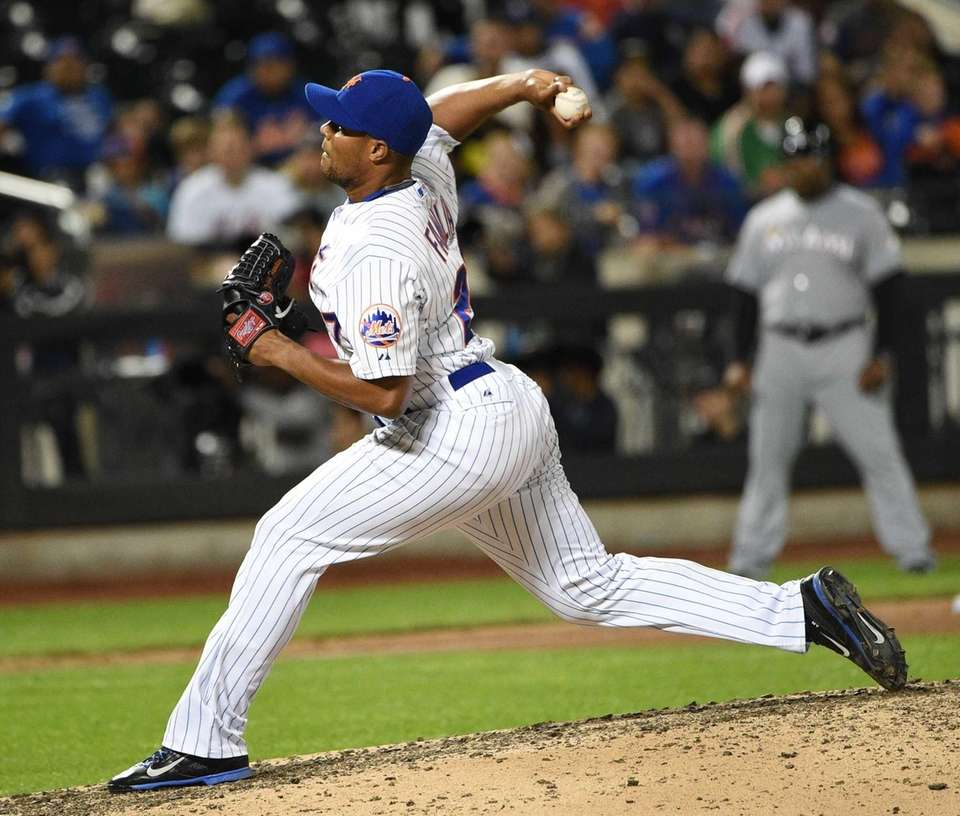 The righthander was thrust into the closer's role