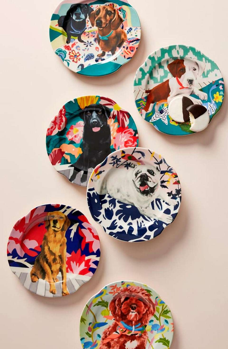 Liven up any table with these side plates
