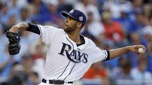 American League's David Price, of the Tampa Bay