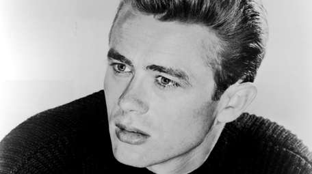 Actor James Dean, who died at age 24