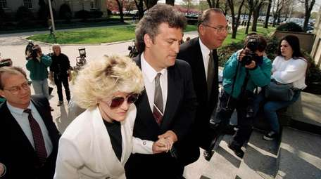 Mary Jo and Joey Buttafuoco arrive at Nassau