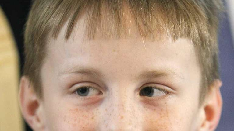 Artyom Savelyev, a 9-year-old Russian boy, is in
