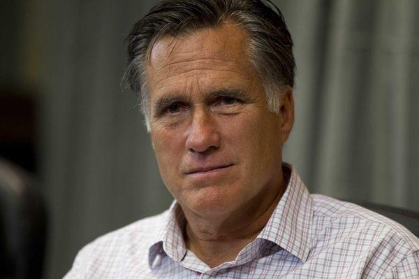 Mitt Romney in Colorado Springs, Colo. (July 10,